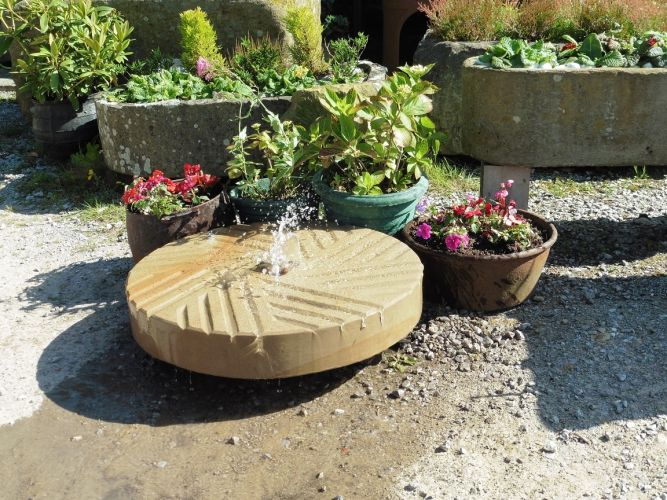 Old Millstone Water Feature