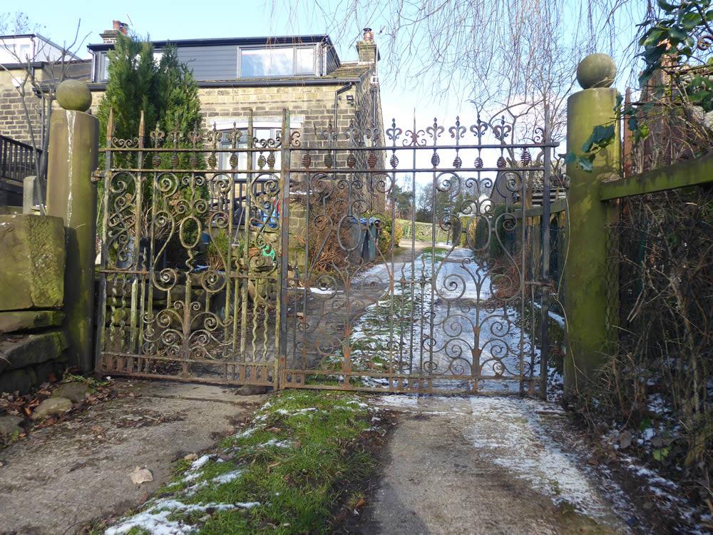 Vintage Wrought Iron Gates