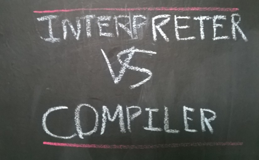 Interpreter vs Commpiler