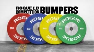 Rogue bumper plates