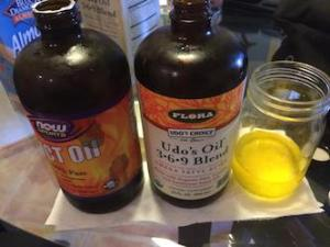 MCT and Udos Choice Oil