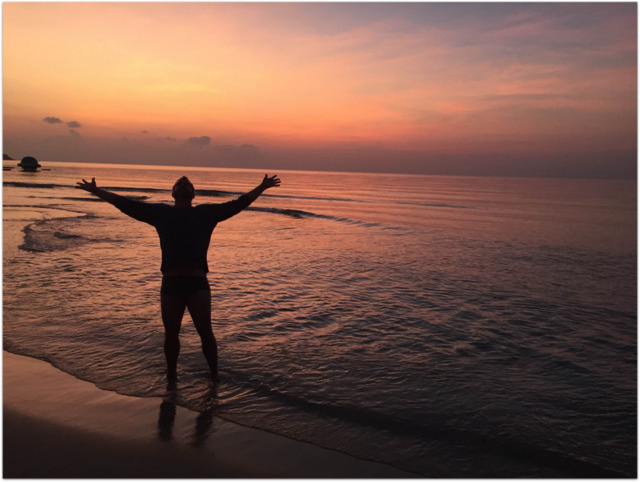 Mike Cernovich Thailand Koh Samui Sunset