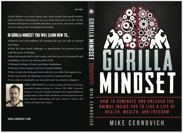 Gorilla Mindset paperback book cover