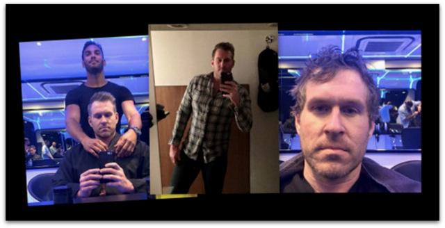 Mens hair cut Mike Cernovich.07 AM