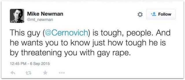 Mike Newman false rape threats.04 AM
