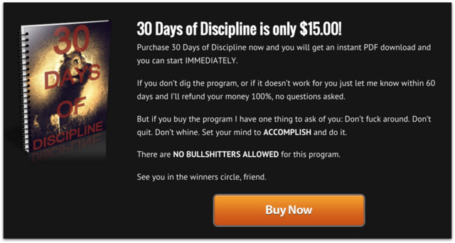 30 Days of Discipline Review.40 AM