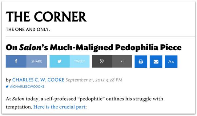 Charles C.W. Cooke Pedophile.33 AM