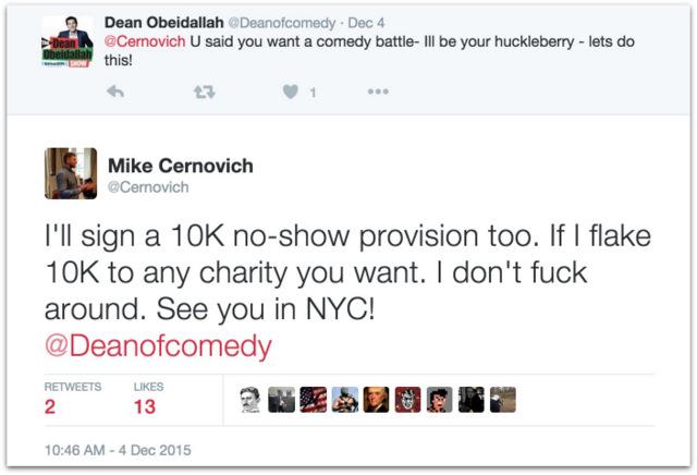 Comedian Dean Obeidallah Daily Beast Cernovich.35 PM