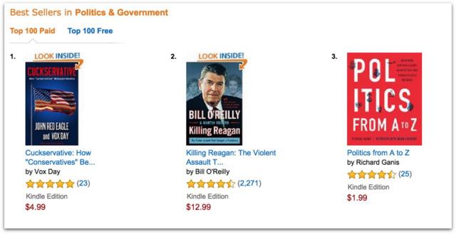 Cuckservative best seller.31 PM