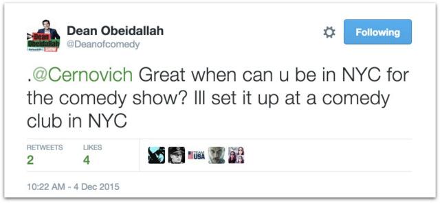 Dean Obeidallah meltdown Twitter Cernovich.53 PM