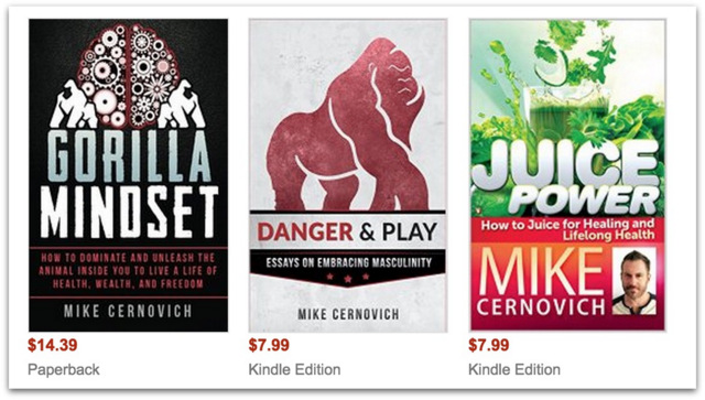 Mike Cernovich Books.40 AM