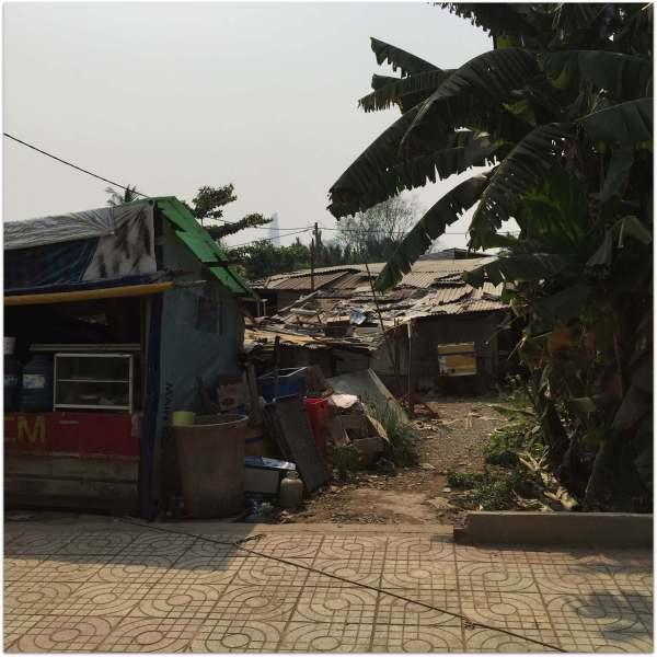 Slum in Saigon