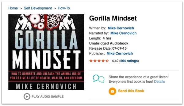 gorilla-mindset-audible-review-audiobook-11-pm