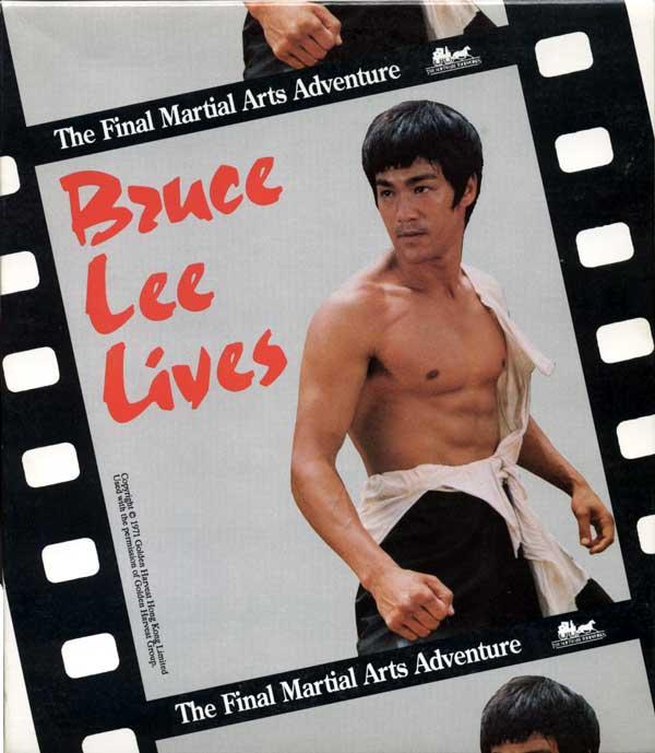 Bruce Lee Lives (Front)