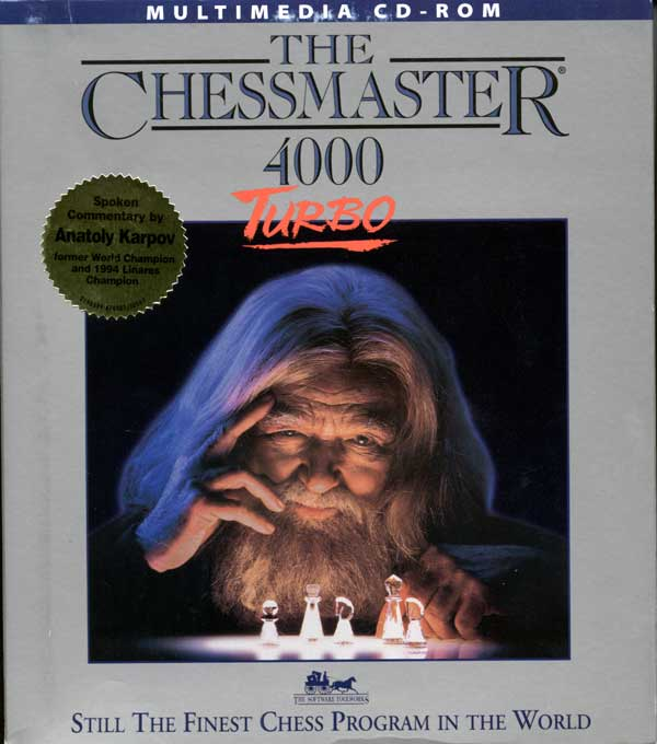 Chessmaster 4000 (Front)