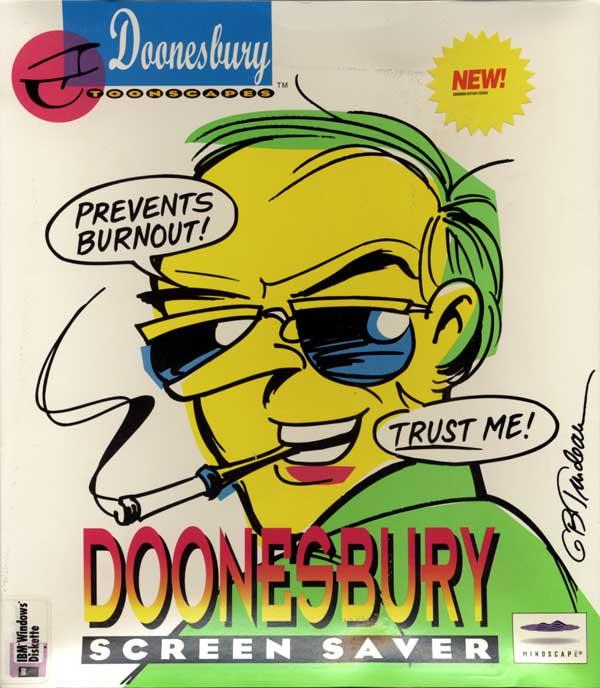 Doonesbury Screen Saver (Front)