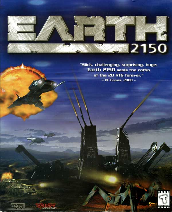 Earth 2150 (Front)