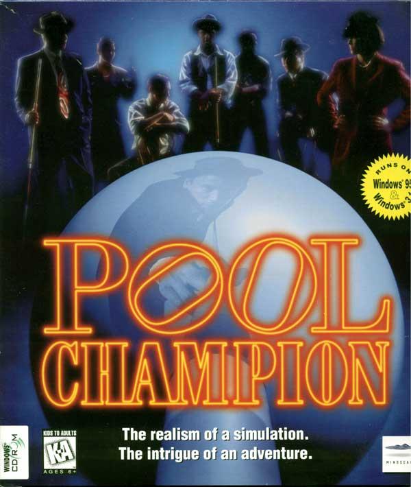 Pool Champion (Front)