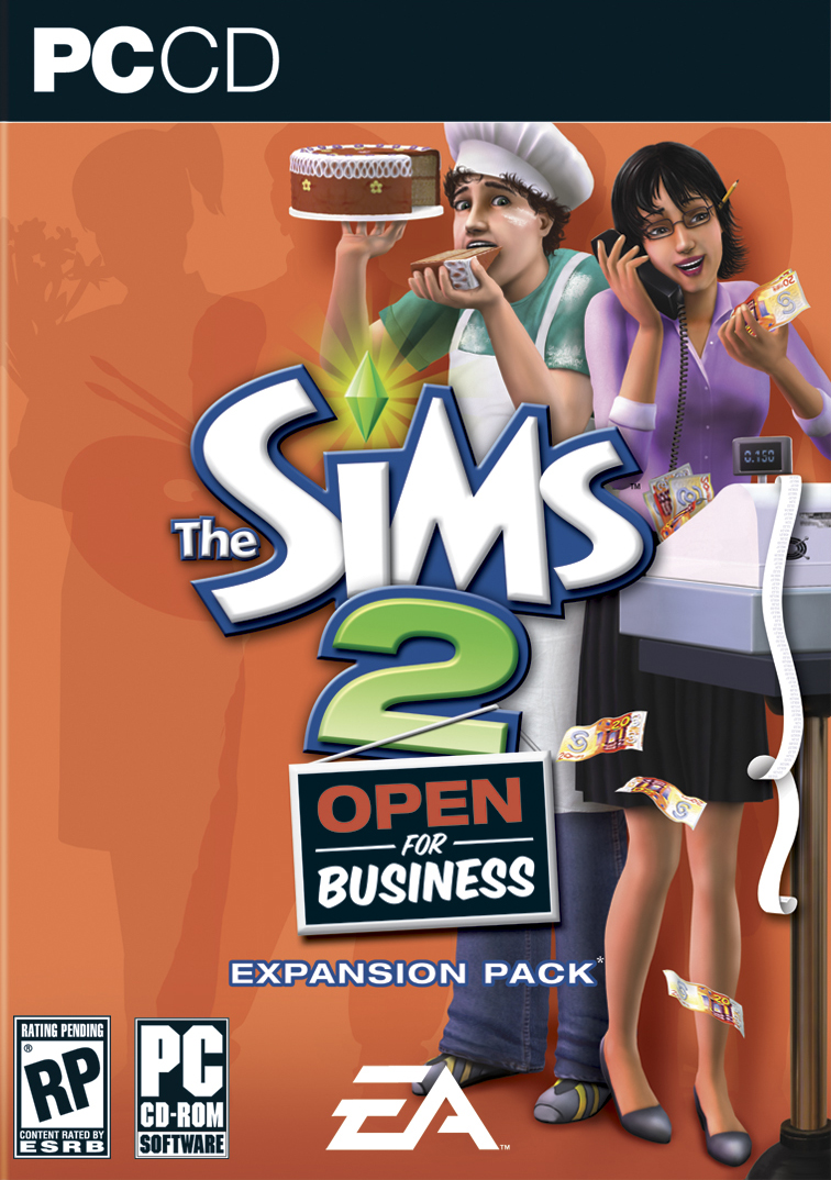 Sims 2 Open for Business (Front)