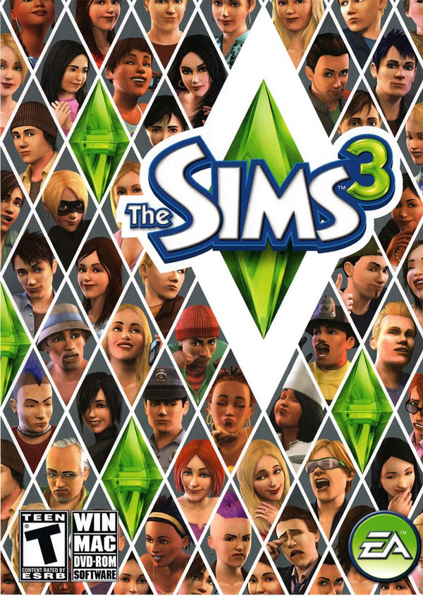 Sims 3 (Front)