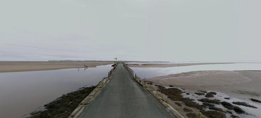 Image result for lindisfarne causeway