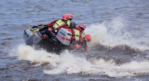 Swiftwater Rescue Boat Handling