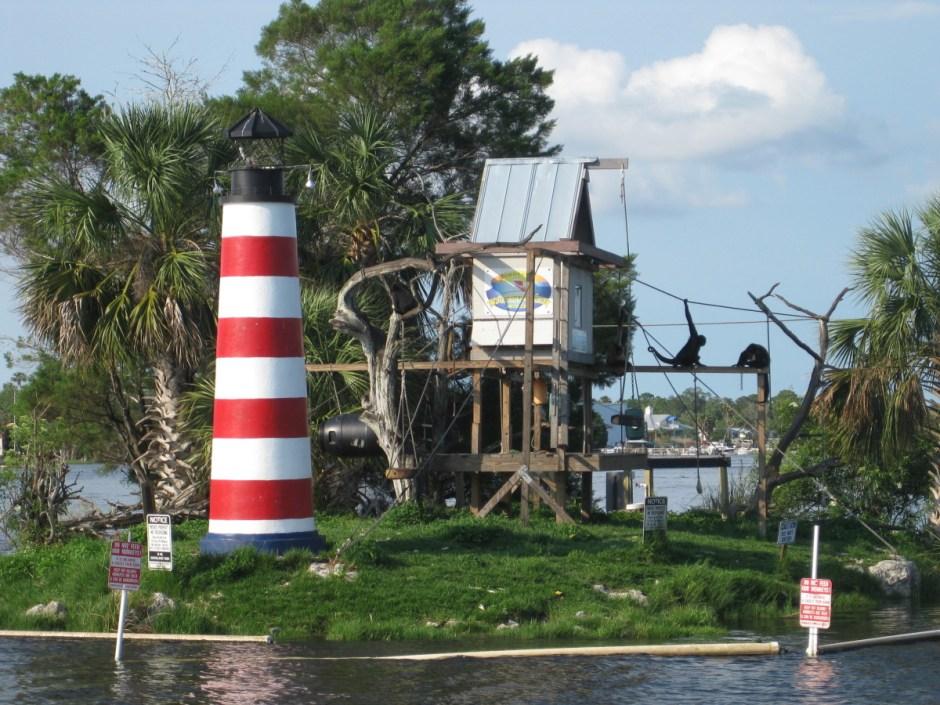 Monkey Island in Homosassa, FL