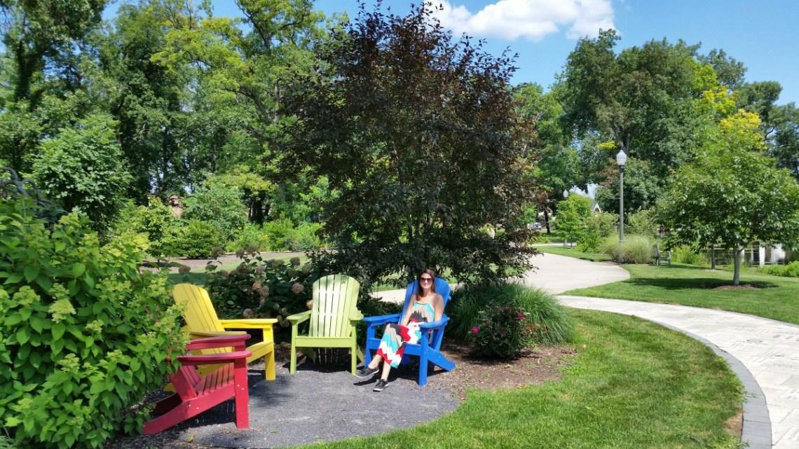 Wellfield Botanic Gardens in Elkhart, Indiana