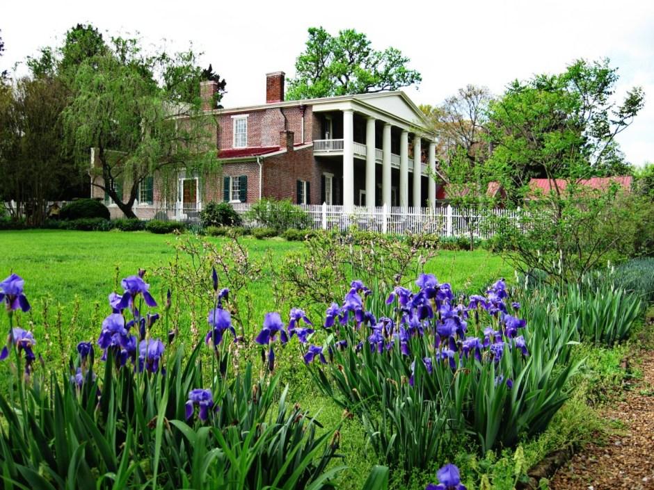 The Hermitage Mansion in Nashville