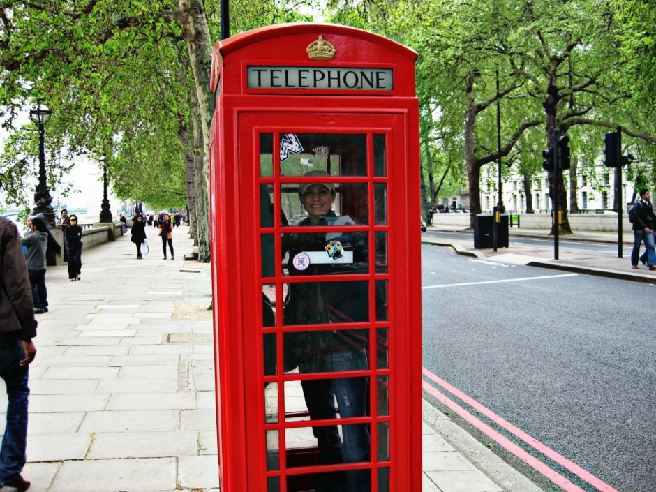 Iconic Phone Booth