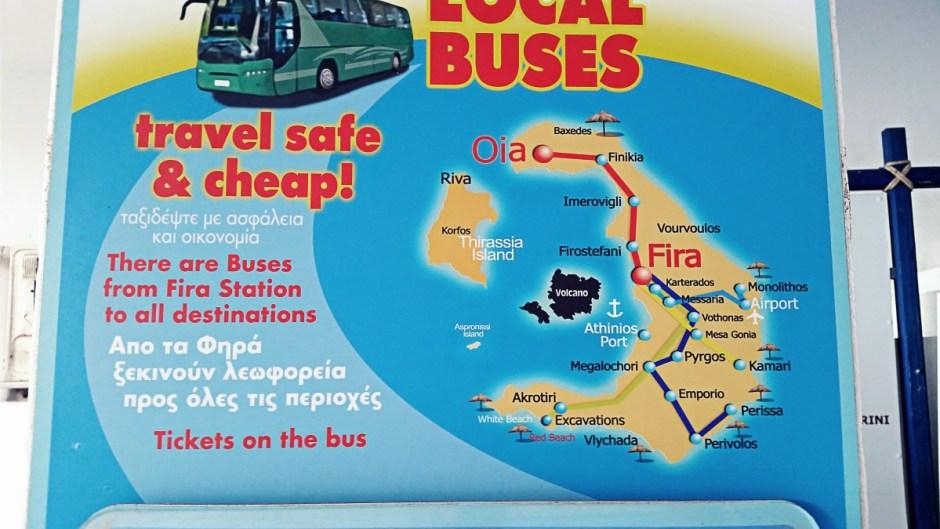 Local Bus Map