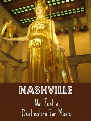 Nashville Not Just a Destination for Music