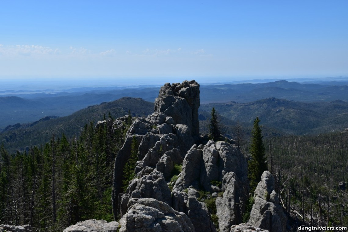 Harney Peak Tower View