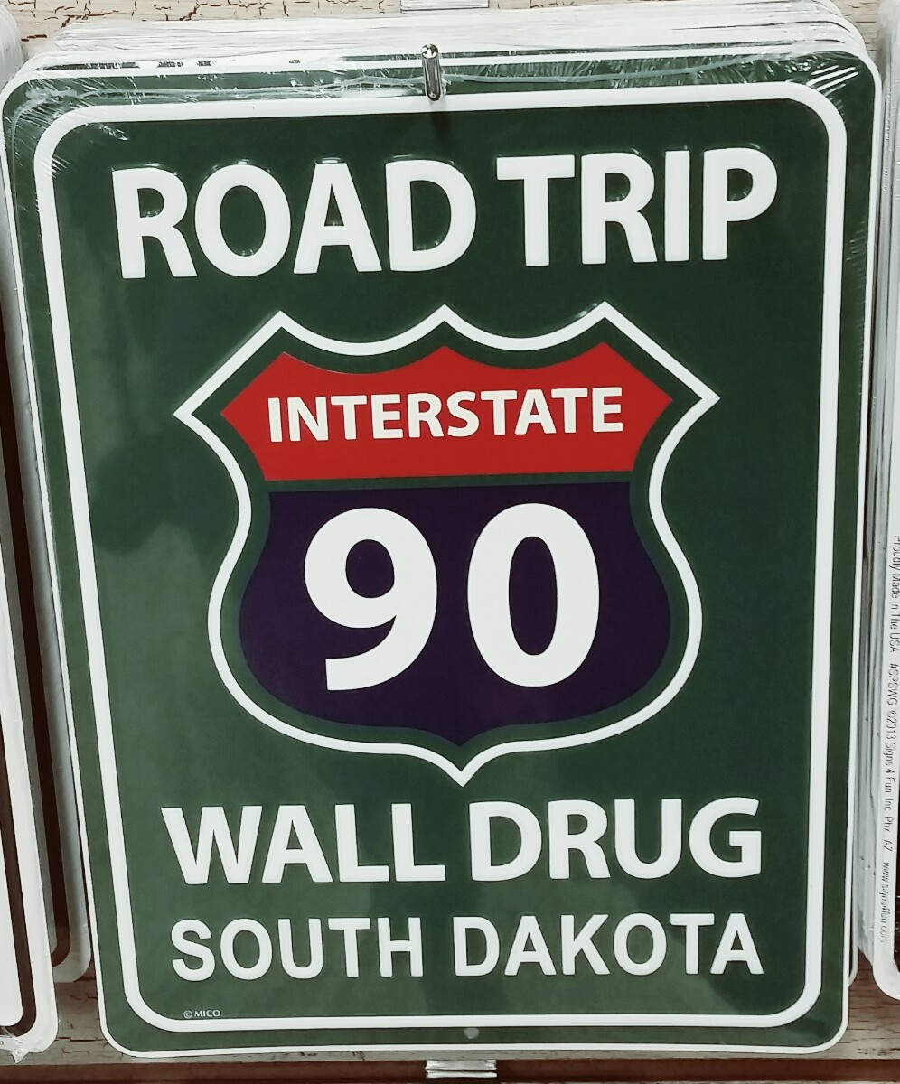Westward on Interstate 90