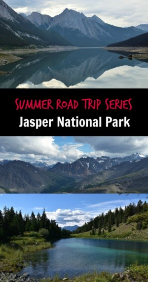 Jasper National Park Pin