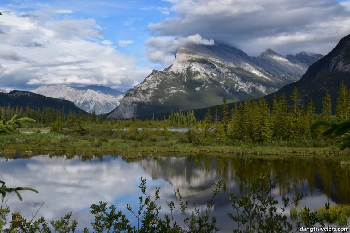 Vermilion Lakes Drive Banff (1)
