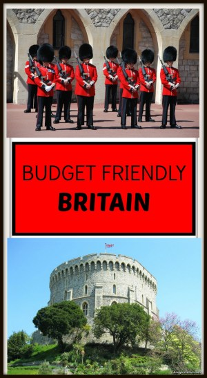Budget Friendly Britain Pin