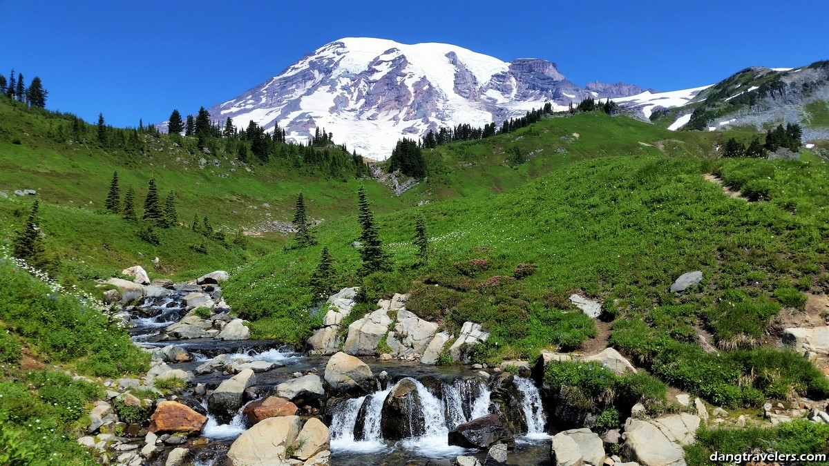 Mount Rainier National Park: Skyline Trail