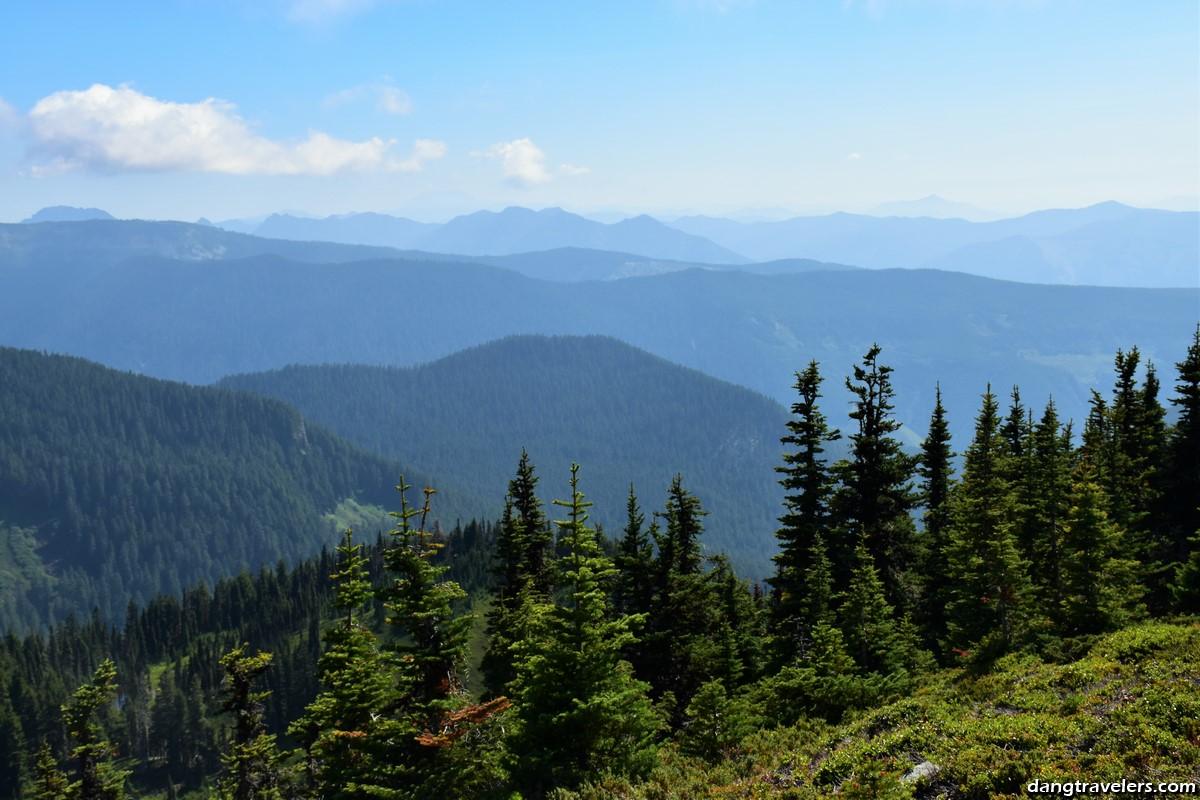 Mount Rainier National Park: Tolmie Peak Trail