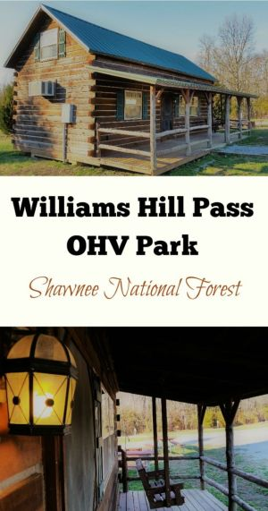 Looking for lodging in Southern Illinois near Shawnee National Forest? Williams Hill Pass OHV Park offers camp sites, cabins and electric hookup spots.