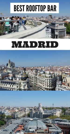 Looking for a magnificient view of Madrid? Doesn't hurt that you can snag a few drinks too. Circulo de Bellas Artes rooftop is the place to be!