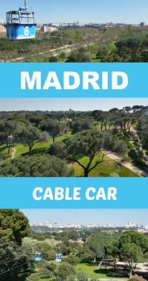 Don't miss out on the best panoramic views from the Madrid cable car! It should be at the top of your list of things to do.