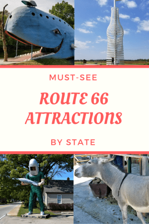 Utterly awesome to notably historic to wacky weird to lip-smacking delicious, here are our recommendations for the must see Route 66 attractions.