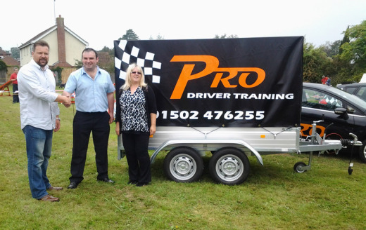 new Trailer PRO-DRIVER Training Lowestoft