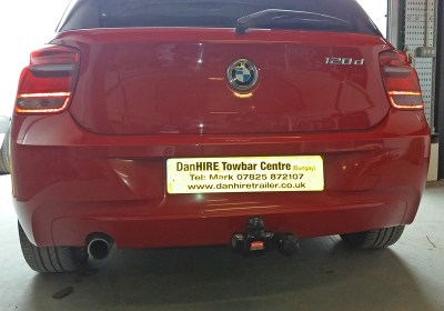 Towbar fitted to BMW SERIES ONE
