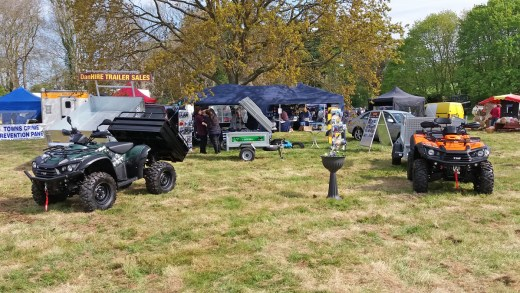 Photo of Danhire Trailers Stand at Earsham Hall 2017