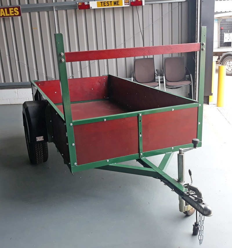 Customer Trailer Rebuild by DanHIRE