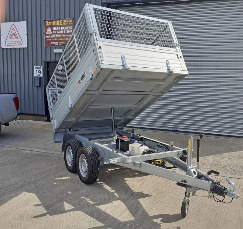 COMMERCIAL TIPPER TRAILER