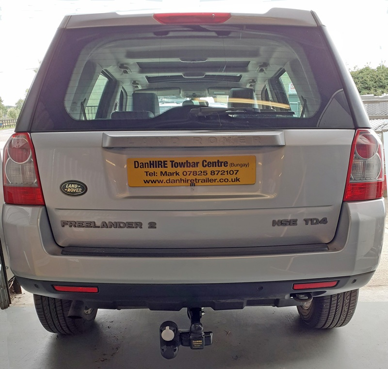 Fixed Flange Towbar Complete with twin electrics to Land Rover Freelander