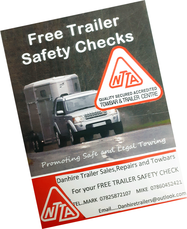 FREE  TRAILER / HORSE TRAILER SAFETY CHECKS